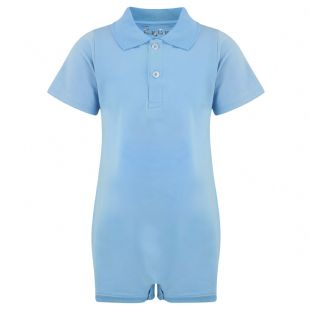 KayCey Super Soft Body Suit - Polo Shirt - Blue from